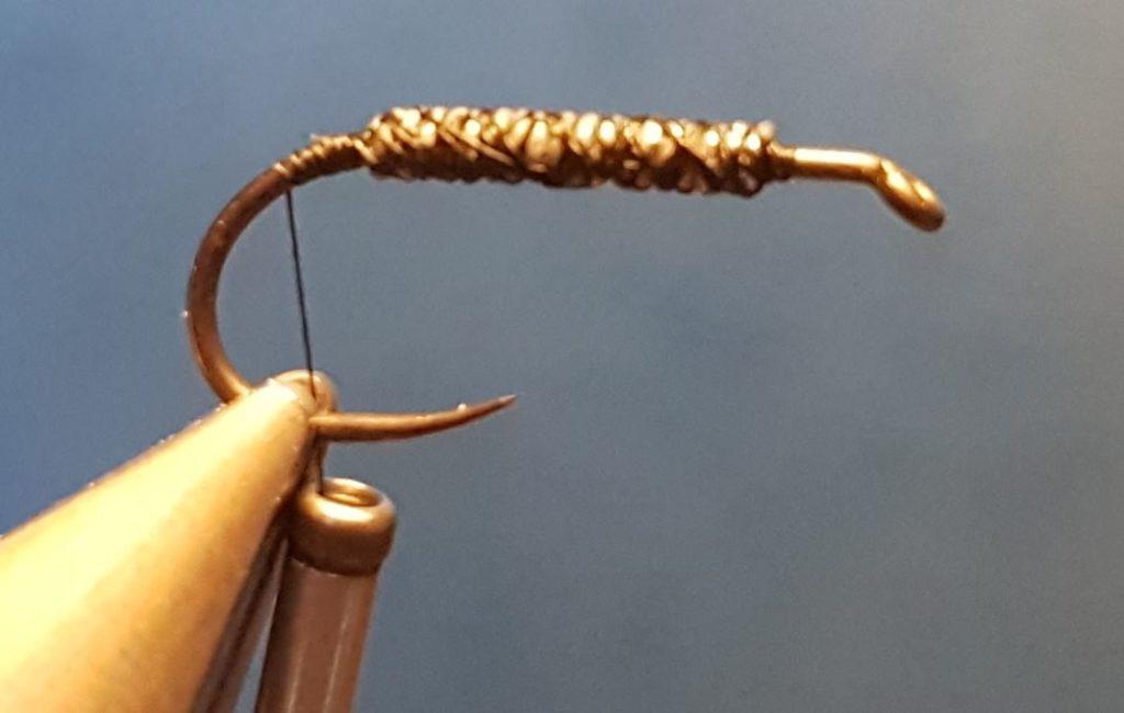 Corixa mouche nymphe fly tying eclosion