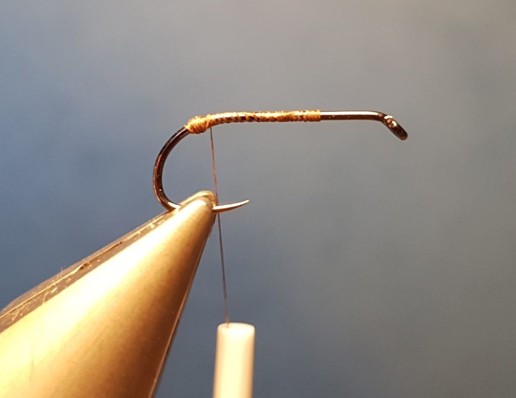 MB march brown elan martre mouche fly tying eclosion