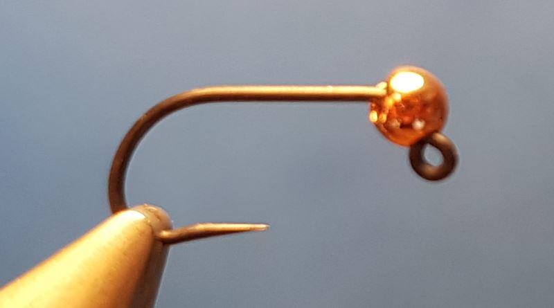 Perdigon madera bille tungstene fly tying mouche eclosion
