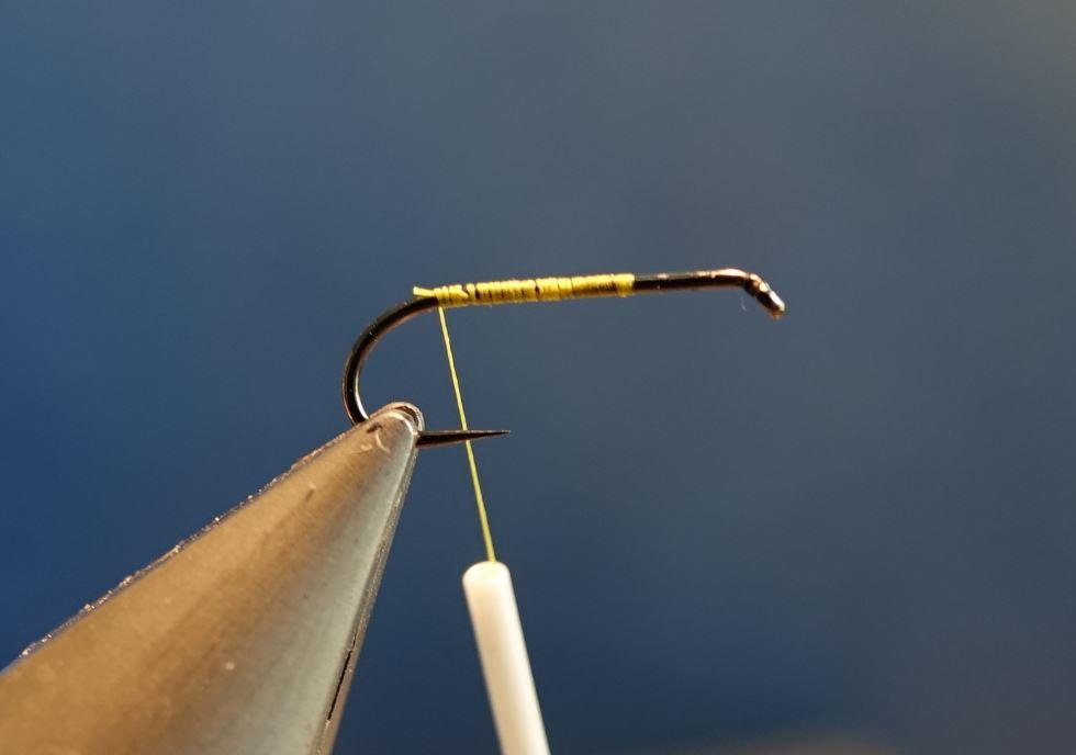 MDM mouche de mai CDC perdrix plume partridge mouche fly tying eclosion