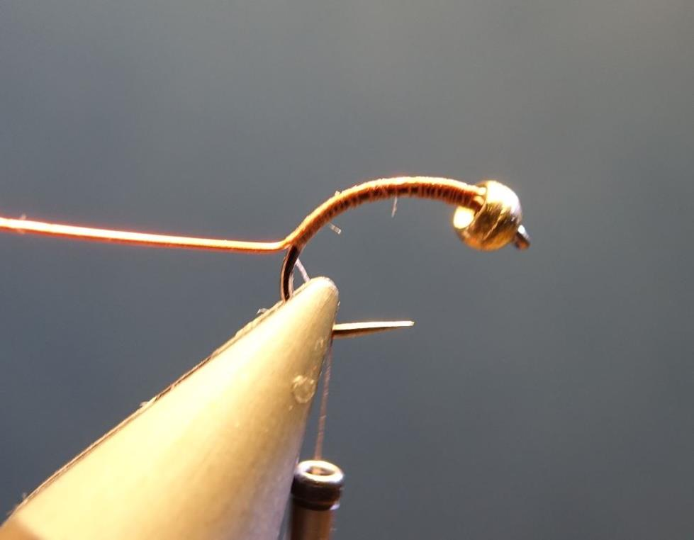 Nymphe bille dubbing lièvre hare fly tying mouche eclosion