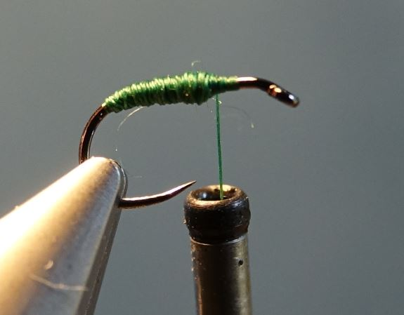 cul-vert CDC mouche fly tying eclosion