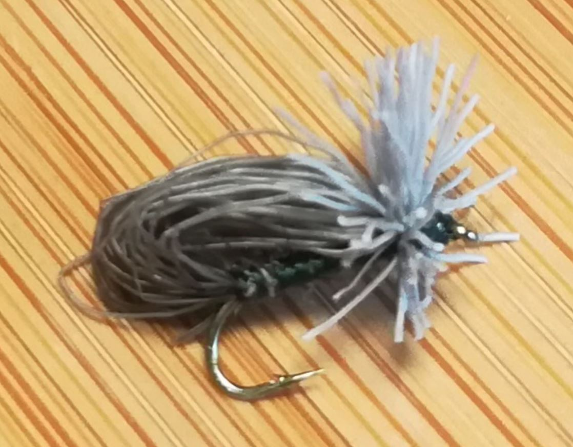 bubble sedge roe deer chevreuil fly tying mouche eclosion