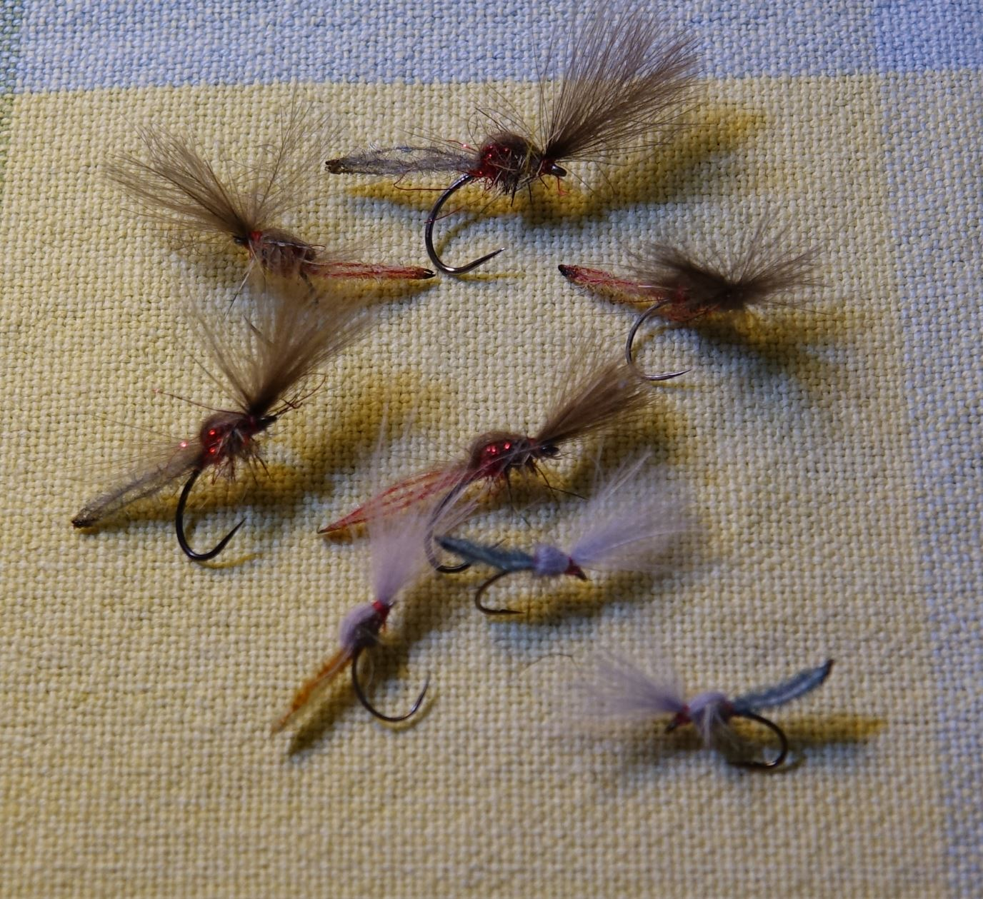Chironome microchenille CDC dubbing mouche fly tying eclosion