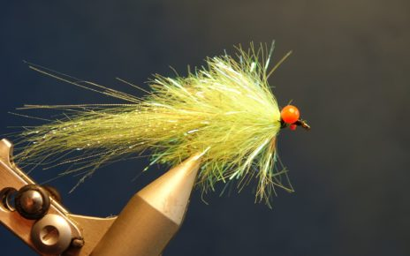 Streamer palmer chenille crystal flash lapin marabou fly tying mouche réeervoir eclosion