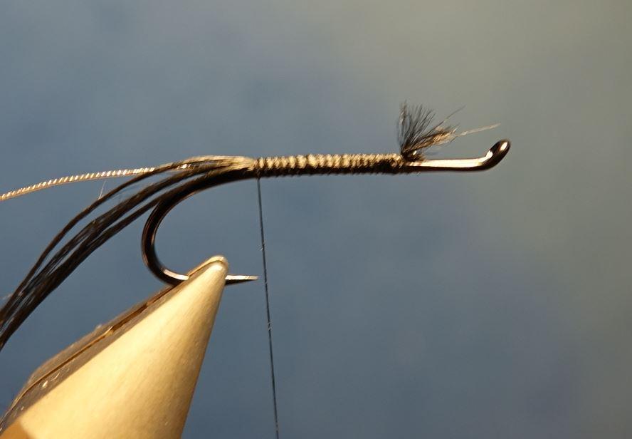 Dovey mouche fly tying salmon saumon truite de mer TDM seatrout squirrel ecureuil eclosion