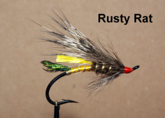 Rusty rat mouche fly salmon saumon fly tying eclosion