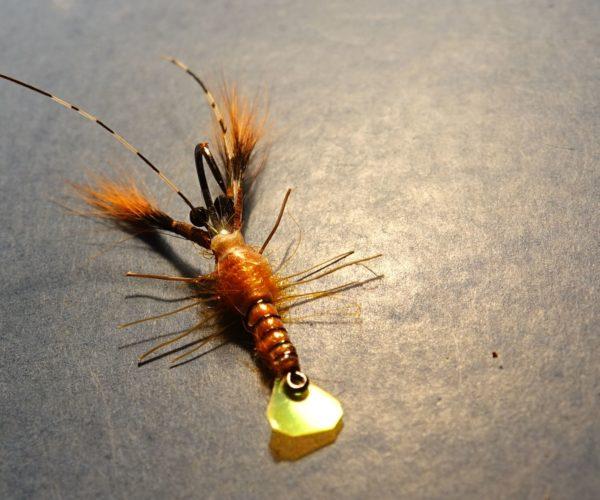 Ecrevisse craw crayfish fly tying mouche eclosion mis en avant