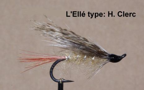 Ellé mouche fly salmon saumon Clerc flytying eclosion