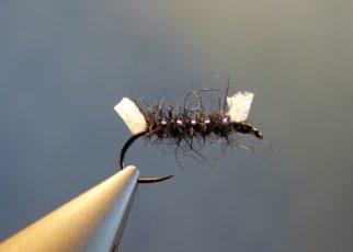 Shipman buzzer mouche fly tying reservoir eclosion