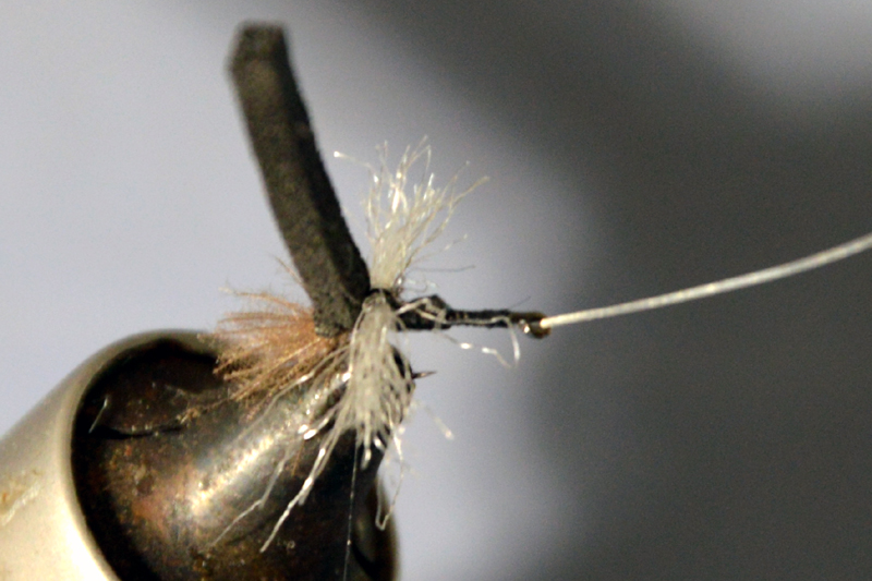 chiro chironome tandem twin chironomid mouche fly tying tying eclosion