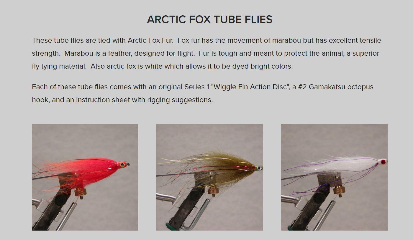 artic fox renard polaire fly tying flytying mouche eclosion fur poil saumon salmon seatrout truite de mer