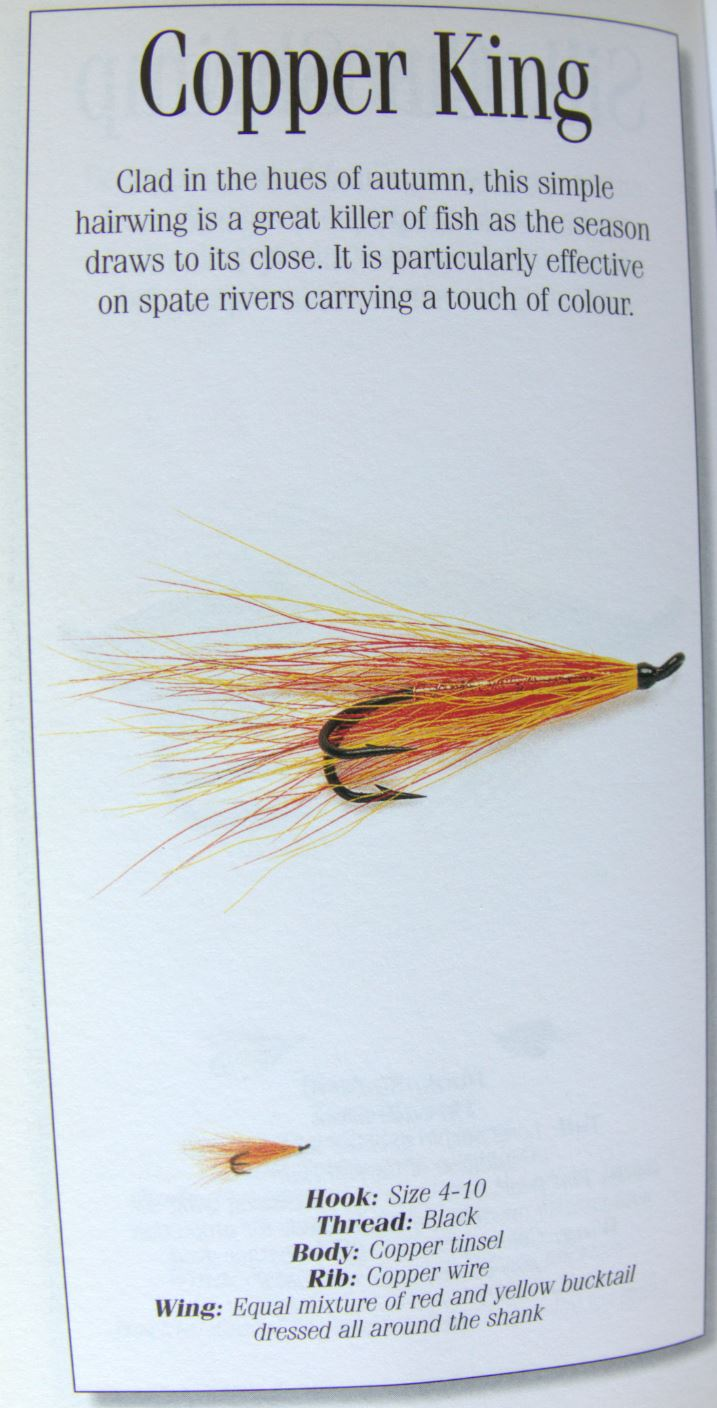 Copper king bucktail streamer poil fur flytying fly tying mouche streamer eclosion