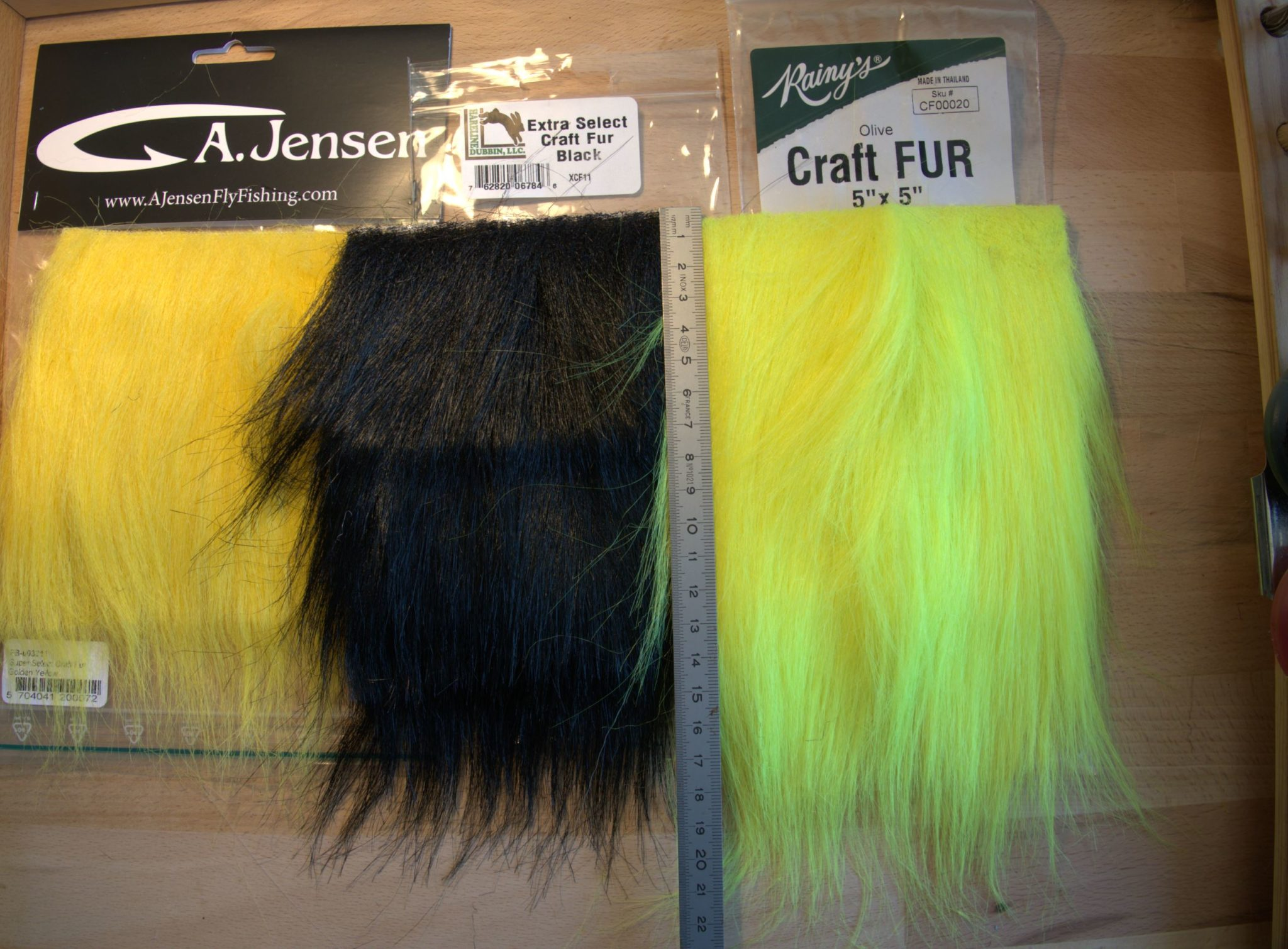 craft fur 2 fly tying flytying mouche eclosion fur poil saumon salmon seatrout truite de mer