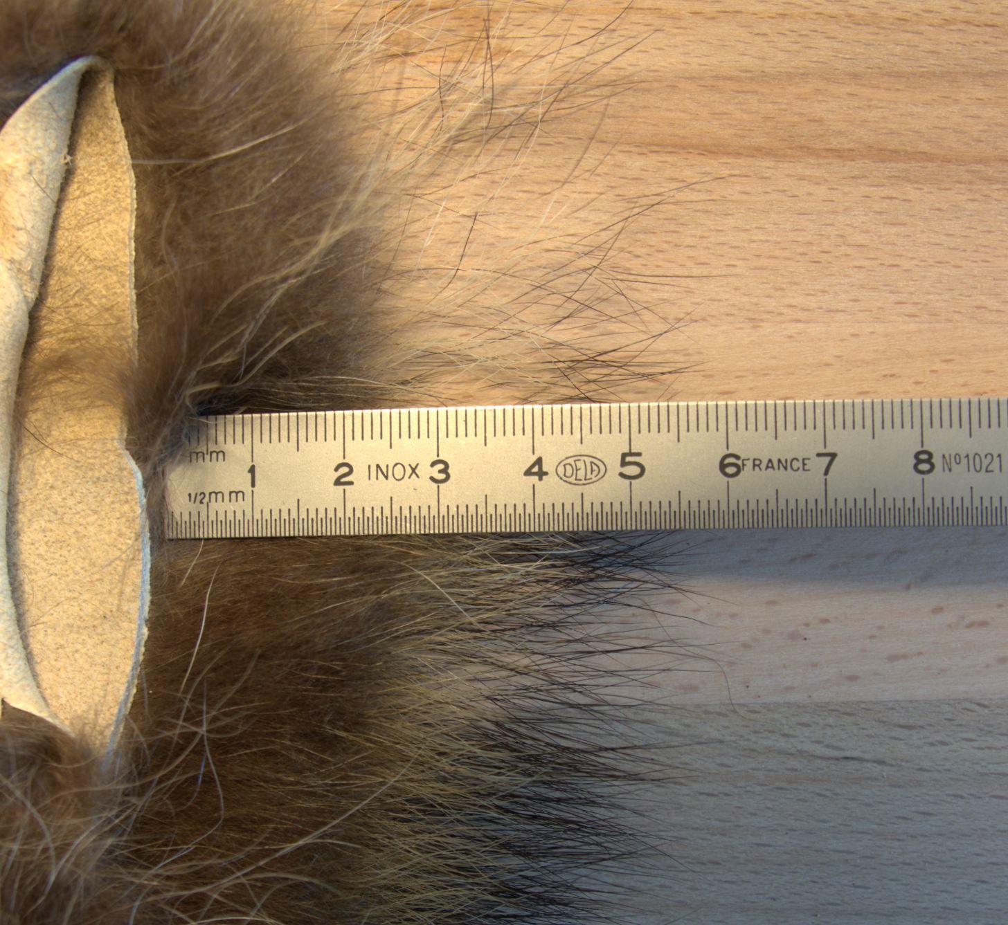 raton laveur raccoon fly tying flytying mouche eclosion fur poil saumon salmon seatrout truite de mer